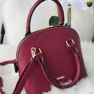 ALDO burgundy purse